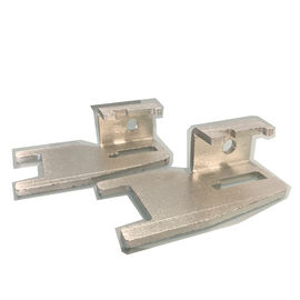 Sheet Precision Metal Stamping Parts Q235 Bahan Zinc Plating Finish